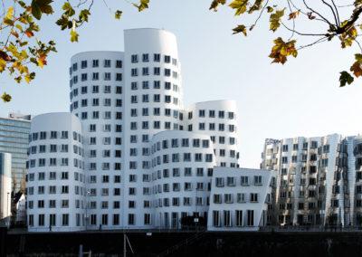 Fassadenbau – Fassadensanierung der Gehry Bauten in Düsseldorf