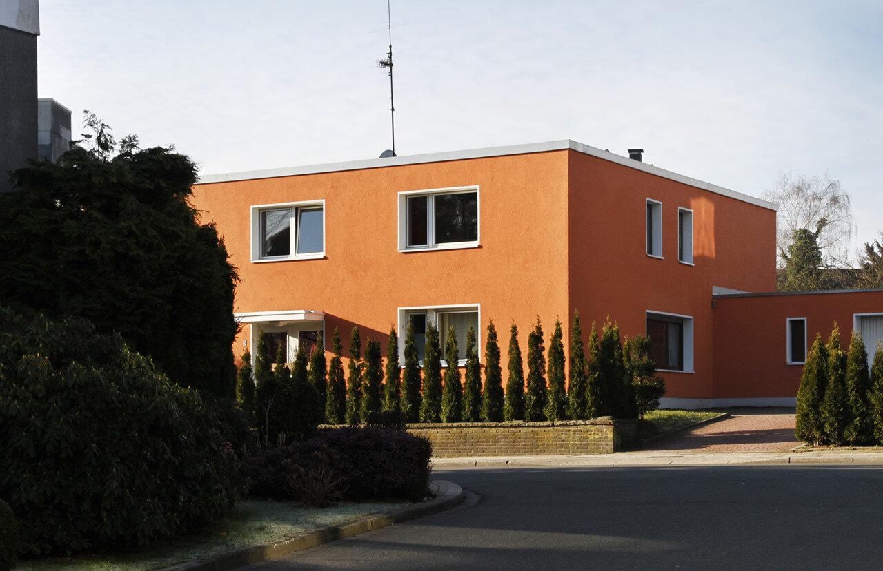 01 Bochum 05 2010 Fassadenbau energetische Sanierung Einfamilienhaus Ceranskijpg