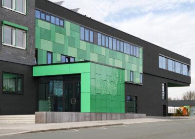 Fassadenbau – Glasfassade Umbau und Aufstockung Bürogebäude in Bochum