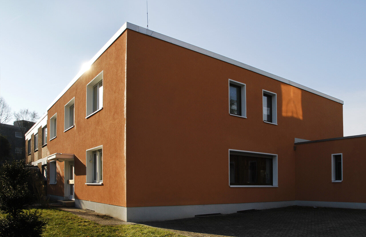 03 Bochum 05 2010 Fassadenbau energetische Sanierung Einfamilienhaus Ceranski