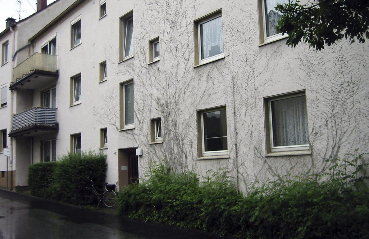 03 Schwelm 10 2008 Bauphase Fassadenbau Mehrfamilienhaus Ceranski