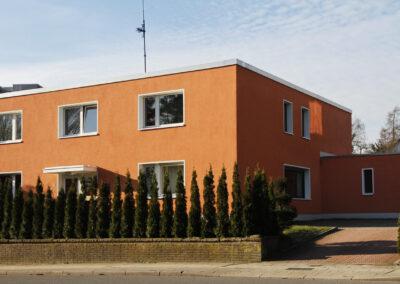 Fassadenbau – Energetische Sanierung eines Einfamilienhauses in Bochum