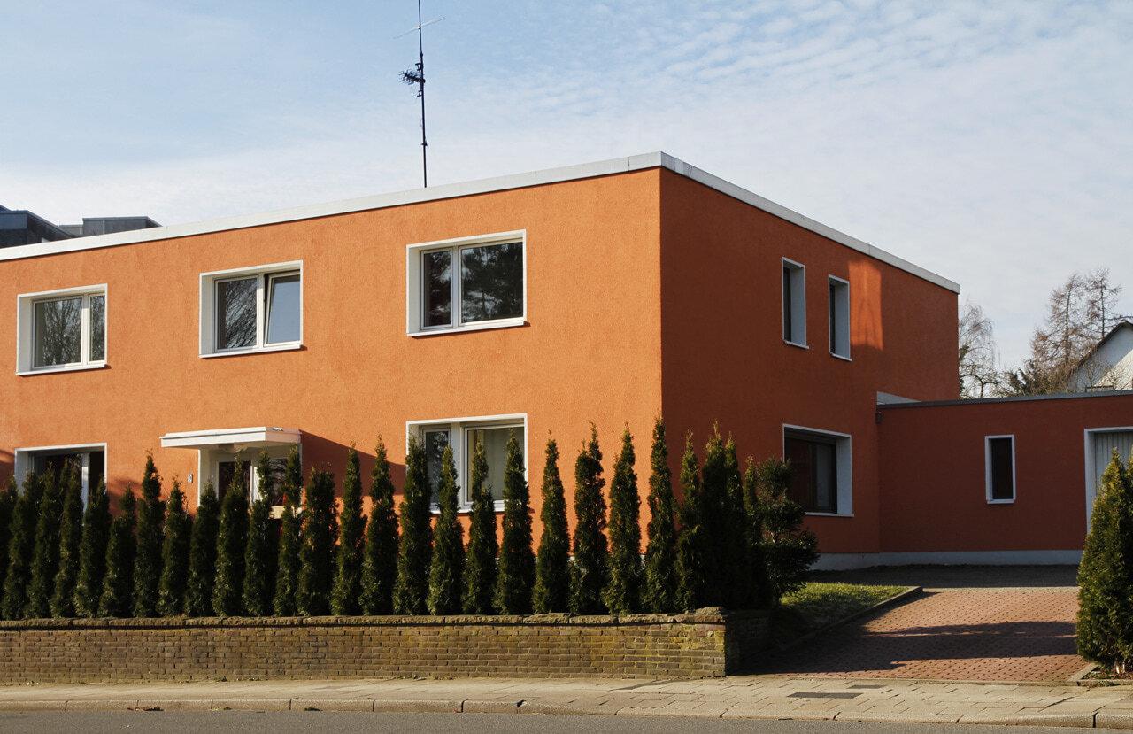 04 Bochum 05 2010 Fassadenbau energetische Sanierung Einfamilienhaus Ceranski