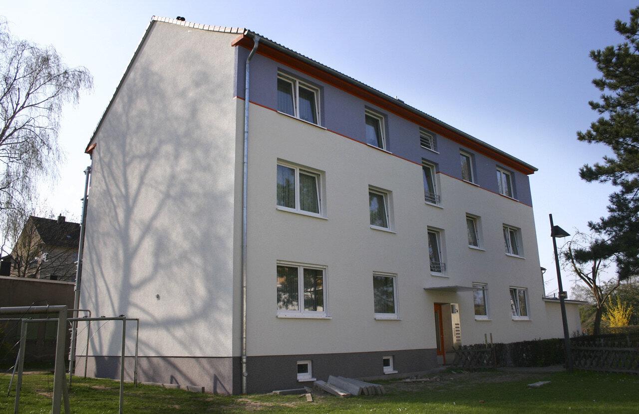 04 Koeln 05 2005 Fassadenbau Waermedaemmung Mehrfamilienhauser Ceranski