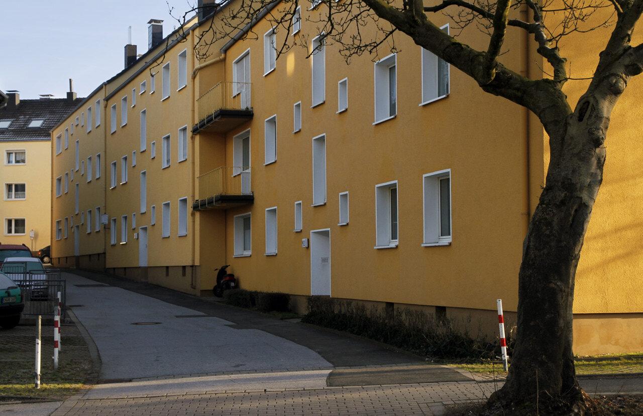 05 Schwelm 10 2008 Fassadenbau Mehrfamilienhaus Ceranski