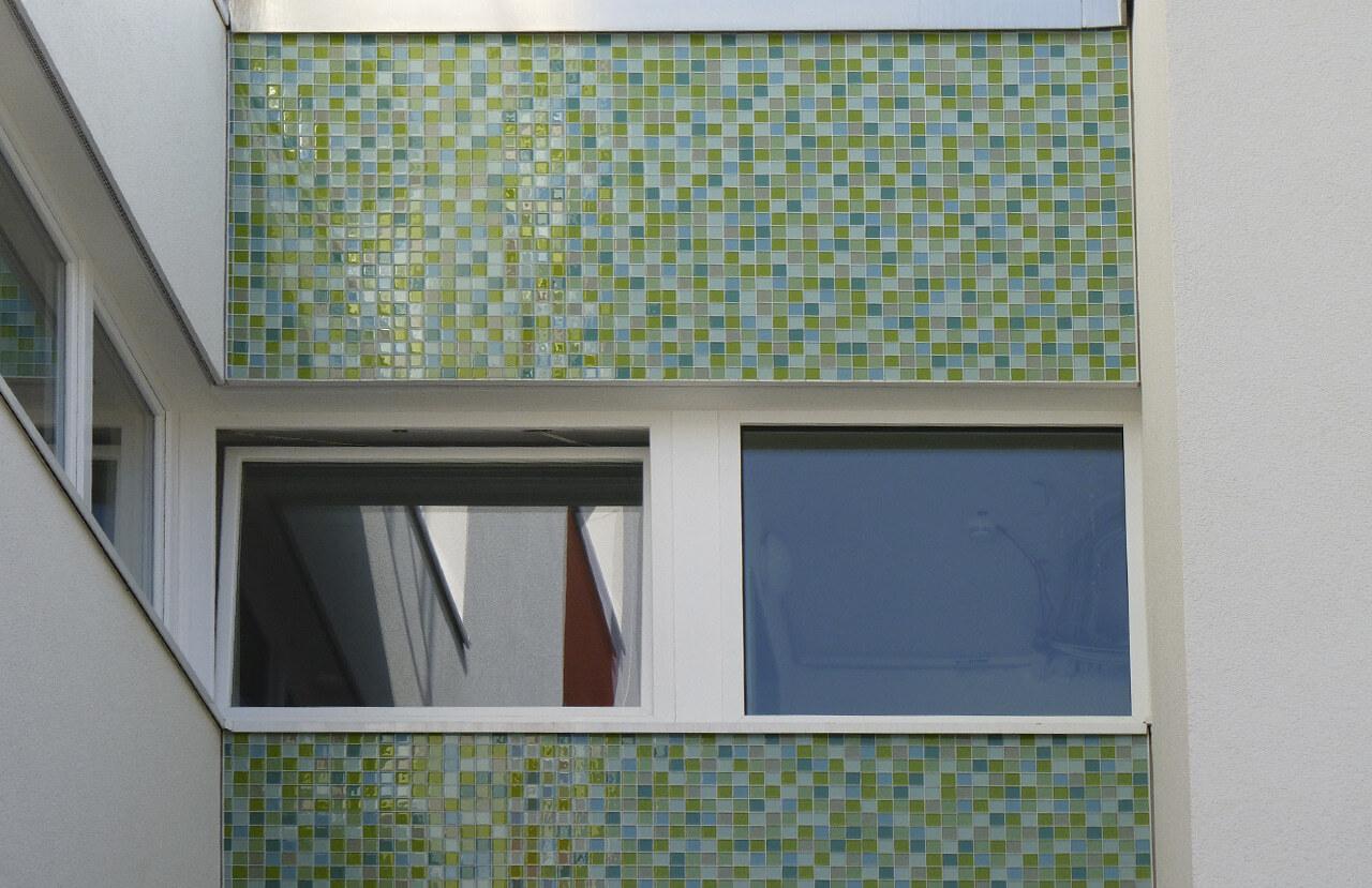 06 Duesseldorf 07 2010 Fassadenbau Studentenwohnheim Uni Ceranski